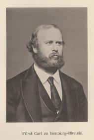 Karl, Prince of Isenburg-Büdingen