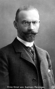 Ernesto, Príncipe de Saxe-Meiningen
